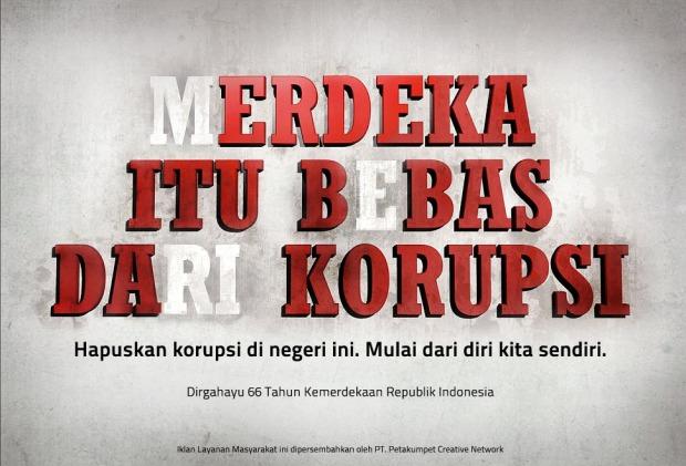 Bebas dari Korupsi