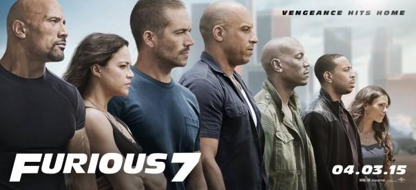 "Furious 7 *Still coming soon, guys"""